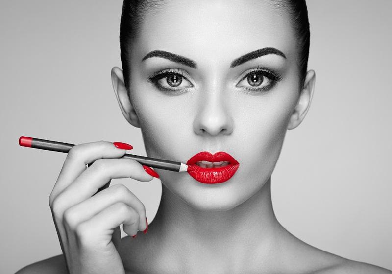 lựa chọn màu viền môi tương thích với màu son tạo nên sự tinh tế