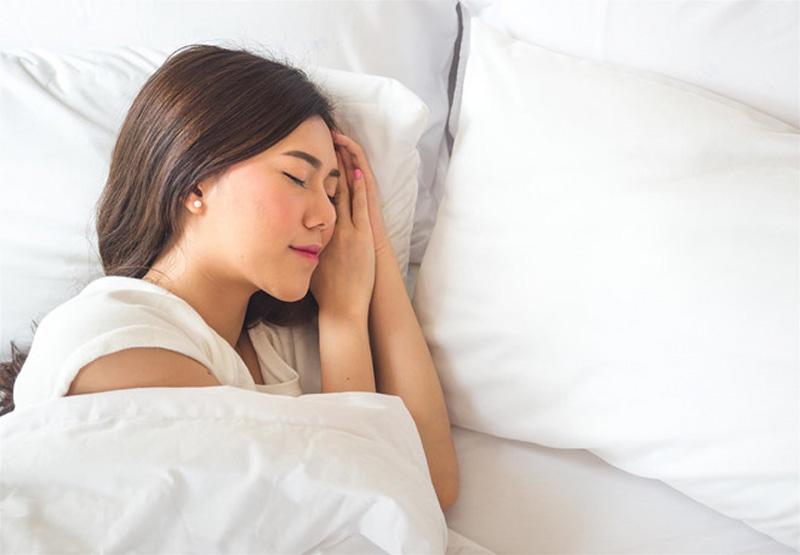 ngủ đủ giấc cho một làn da khỏe mạnh